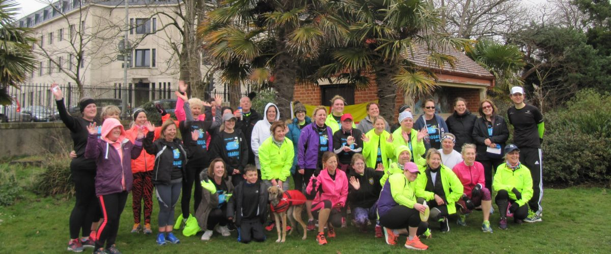 Couch to 5k graduates and trainers
